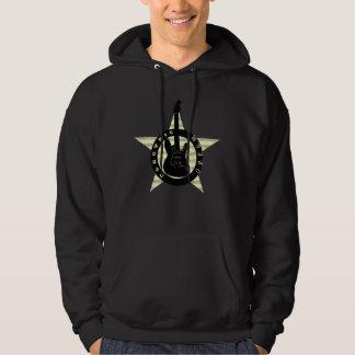 Electric Dream Guitar Rock Star Music Cool Black Hoodie