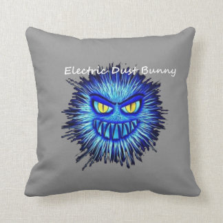 Electric Dust Bunny The Coal Blacks Part 2 Cushions
