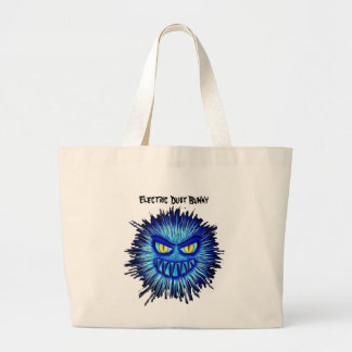 Electric Dust Bunny Tote Bag