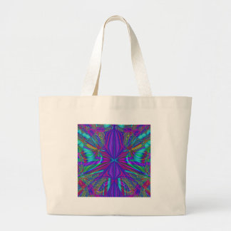 Electric Eclectic Large Tote Bag