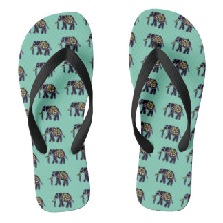Electric Elephants Thongs