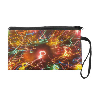 Electric Excitment Wristlet Clutch