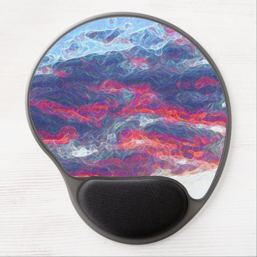 """""""Electric Fire Clouds""""   (Clouds only) Gel Mousepads"""