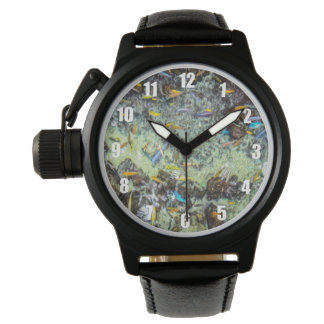 Electric Fish Design Watch for Men