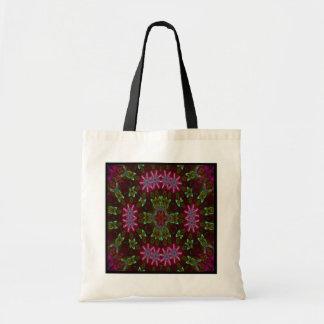 Electric Flower II Kaleido-Tote Tote Bag