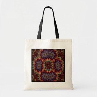 Electric Flower Kaleido-Tote Tote Bag