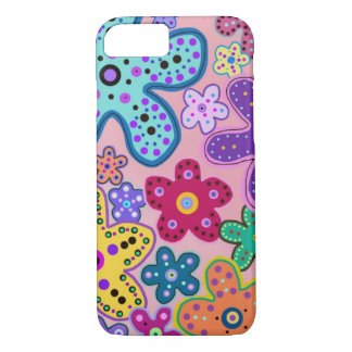 Electric Flowers iPhone 7 case