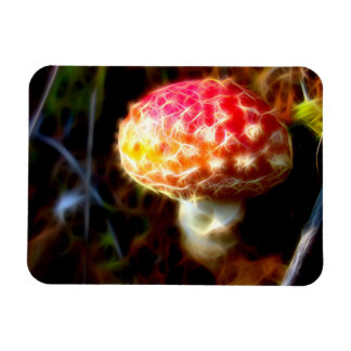 Electric Fly Agaric Fridge Magnet (Amanita)
