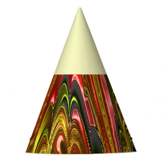electric fractal 1A Party Hat