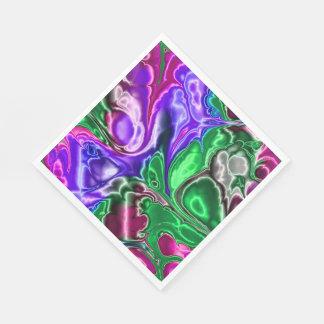 electric fractal 3 disposable napkin