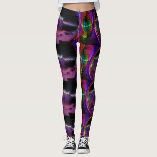 Electric Galaxy Leggings