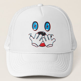 Electric Giggle Trucker Hat