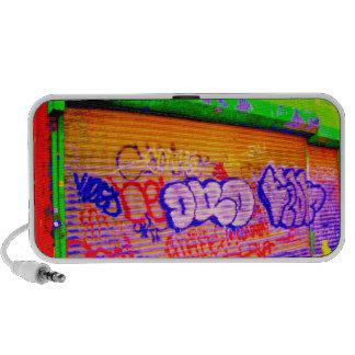 'Electric Graffiti Gates' Doodle Speaker