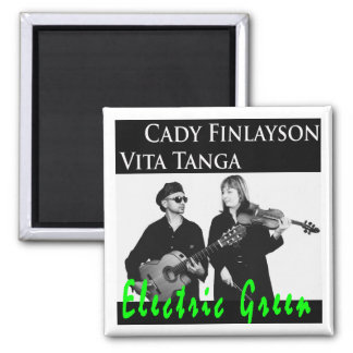 Electric Green Cd Cover Magnet