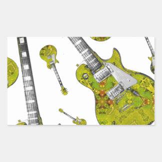 Electric Guitar 05.jpg Rectangular Sticker