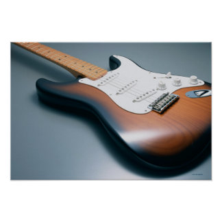 Electric Guitar 10 Poster