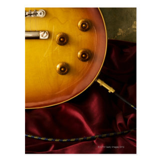 Electric Guitar 6 Postcard