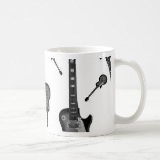 Electric Guitar Basic White Mug