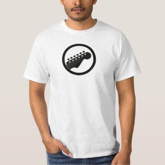 Electric Guitar Black Color T-Shirt