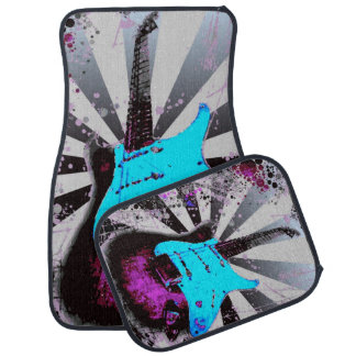 Electric Guitar Car Mats