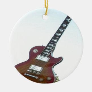 Electric Guitar Ceramic Ornament
