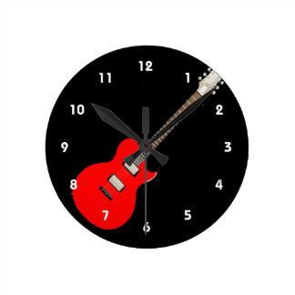 electric guitar copy.png wallclock