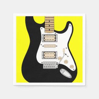 Electric Guitar Disposable Napkins
