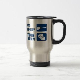 ELECTRIC GUITAR is my therapy Coffee Mug