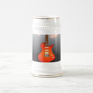 Electric Guitar Lovers Dream Beer Stein