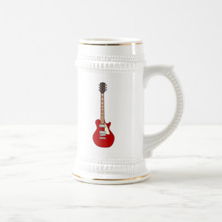 Electric Guitar 18 Oz Beer Stein