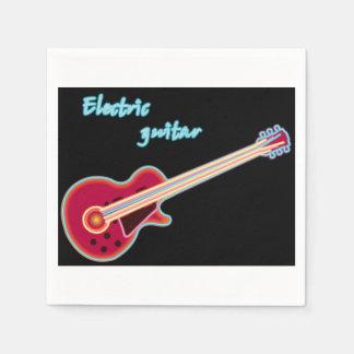 Electric Guitar Paper Napkins Disposable Napkin
