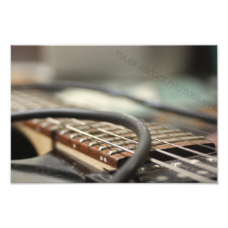 Electric Guitar Photo Print