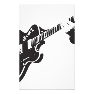Electric Guitar Stationery