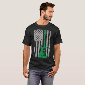 Electric Guitar U.S. Flag Pride T-Shirt