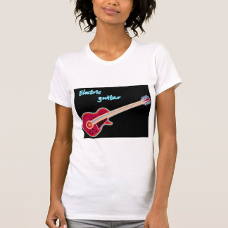 Electric Guitar Womens T-Shirt
