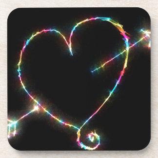 Electric Heart Coaster