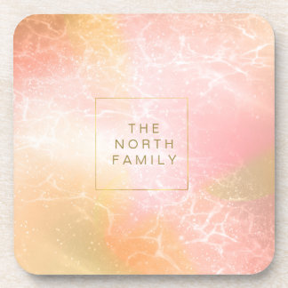 Electric Holograph Gradient Pink ID371 Coaster