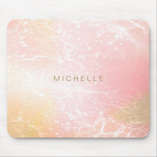 Electric Holograph Gradient Pink ID371 Mouse Pad
