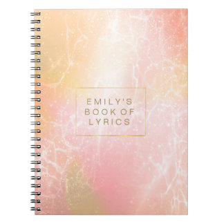 Electric Holograph Gradient Pink ID371 Notebooks