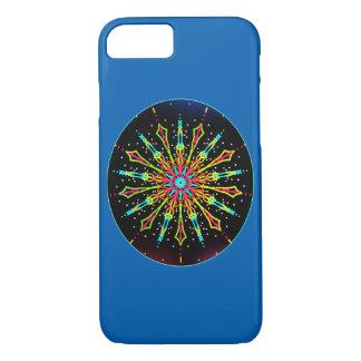 Electric light mandala iPhone 8/7 case