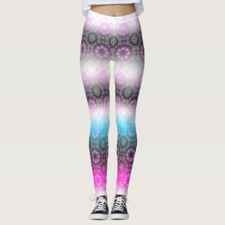 Electric Lights at Twilight:  Neon Passion Leggings