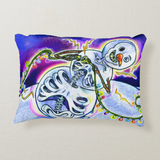 Electric Lights on Strings Decorative Cushion