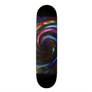 Electric Lights Swirl Skateboard-Design 1 Skateboard Decks
