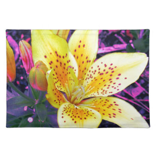 Electric Lily in Purple Placemat