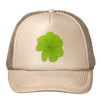 Electric Lime PopArt Flower Trucker Hats