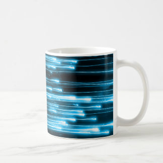 Electric Lines Coffee Mugs