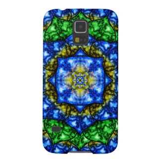Electric Lotus Mandala Case For Galaxy S5