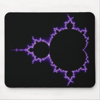 Electric Mandelbrot Set Mousepad