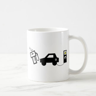 Electric Murder Basic White Mug