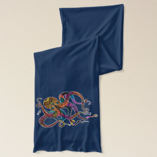Electric Octopus Scarf